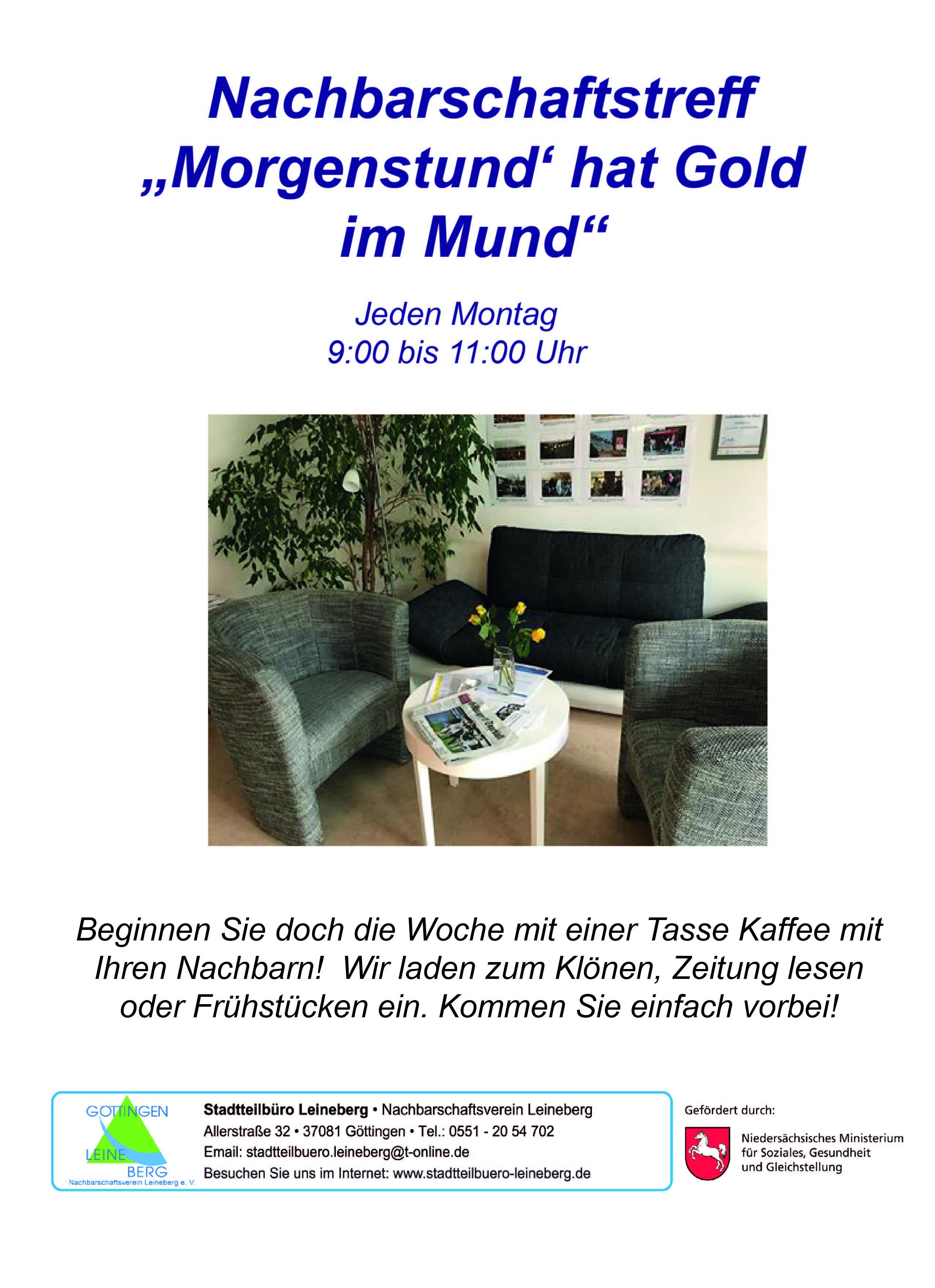 Aktuelles : Stadtteilbüro Leineberg